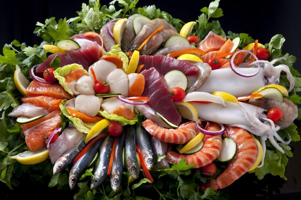 Plateau plancha de poisson frais poissonerie du 8 mai for Poissons a la plancha